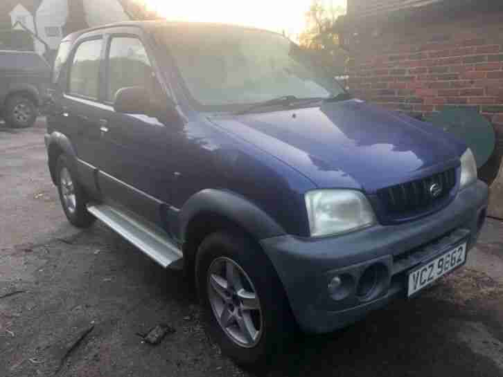 Daihatsu Terios. Daihatsu car from United Kingdom