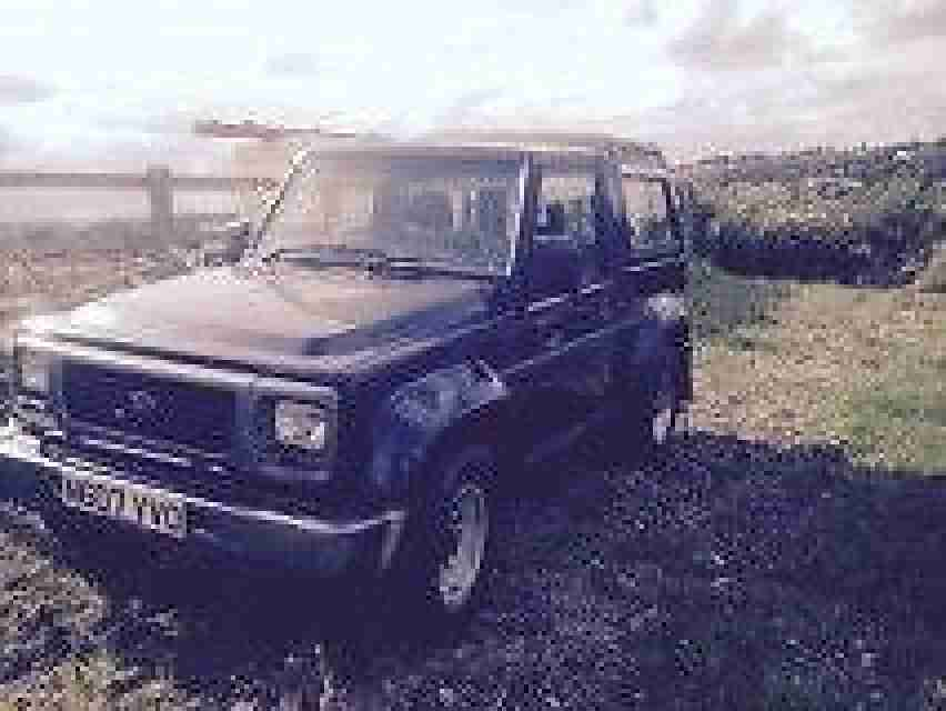 fourtack fourtrak 2.8 tdi off roader