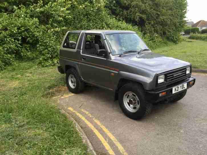 Daihatsu Sportrak 1 6 Elx I 4x4 Car For Sale border=
