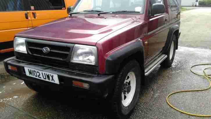 Daihatsu Sportrak 1.6. Daihatsu car from United Kingdom