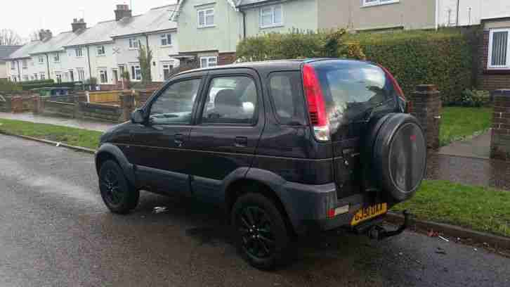 terios 4x4 spares or repair