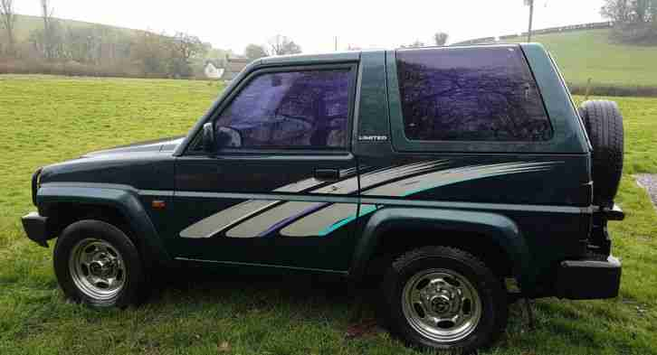 Diahatsu Sportrax 1.6 EFI 4x4 Off Roader Farm Vehicle Green Lane