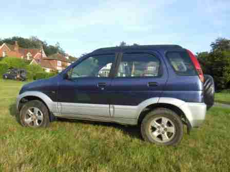 Diahatsu Terios 1998 1300cc Petrol Manual. MOT failure.