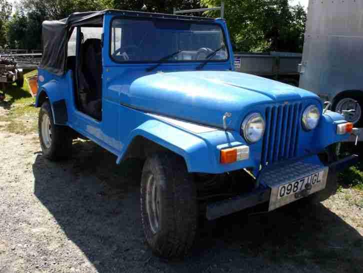 eagle rv jeep 4x4 blue kit car car for sale. Black Bedroom Furniture Sets. Home Design Ideas