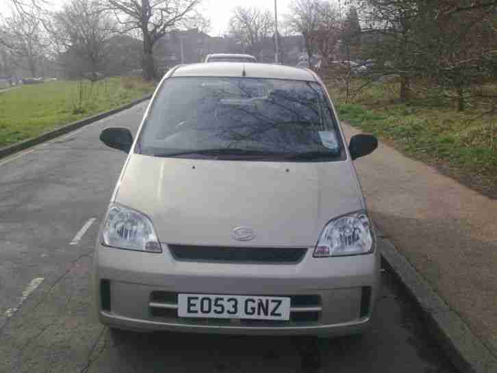 EO53GNZ DAIHATSU CHARADE SL CLEAN RELIABLE LITTLE CAR 2 OWNERS HISTORY TAX MOT