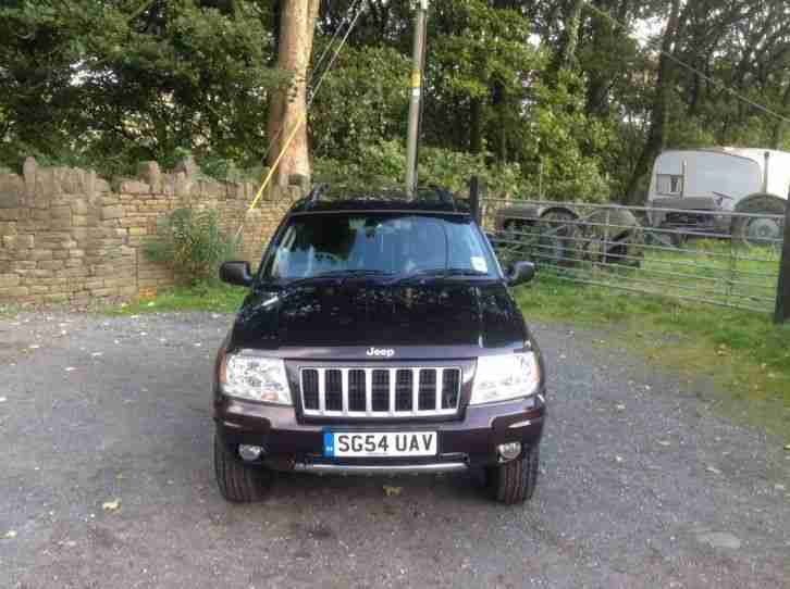 Jeep EXCELLENT 2004 GRAND CHEROKEE CRD LTD AU MAROON. car ...