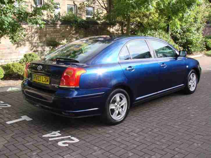 EXCELLENT AUTOMATIC !!2003 TOYOTA AVENSIS 1.8 VVT-i T3-X 5dr, LONG MOT, WARRANTY