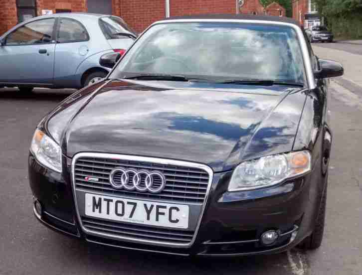 EXCELLENT LOW MILEAGE AUDI 1.8 CONVERTIBLE ONE LADY OWNER FSH NEW MOT IMMACULATE