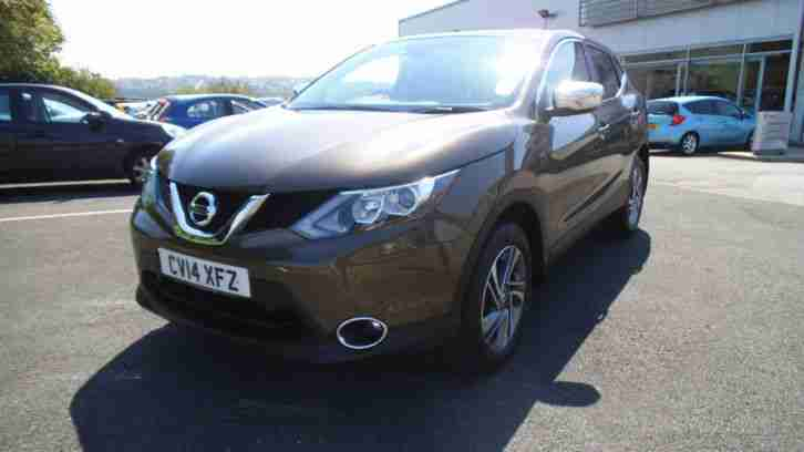 Ex-Demonstration Nissan Qashqai 1.5dCi ( 110ps ) Acenta Premium