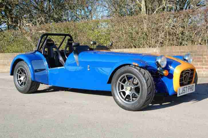 Excellent Caterham 7 Roadsport - Tillets - New R888rs - Factory build