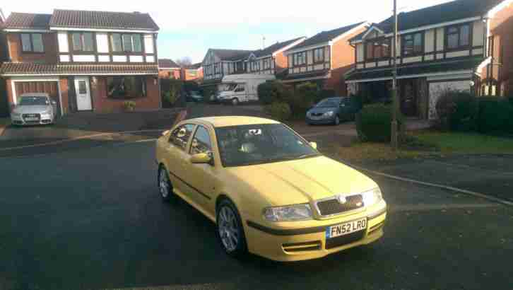 Excellent: Octavia 1.8T VRS for sale in