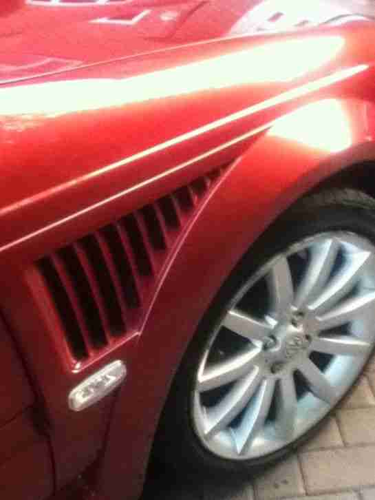 FACELIFT MG ZS+SALOON IN RED 1.8 WITH FULL 180 BODY KIT