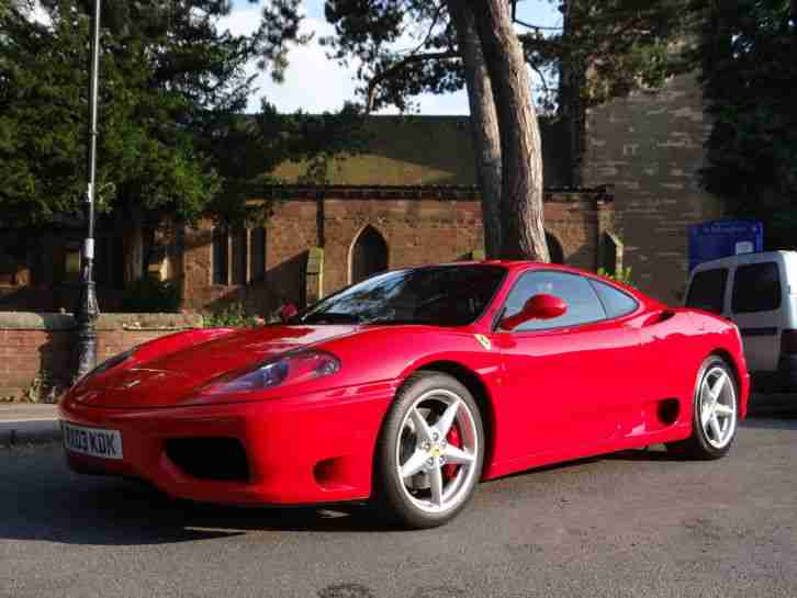 360 MODENA F1. 2003 03 Reg. Red with