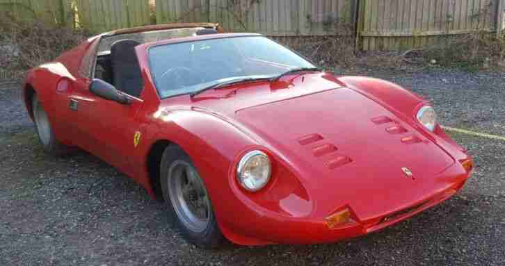 Ferrari DINO KIT CAR. car for sale