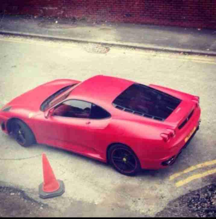 Ferrari F430 For Sale: Ferrari F430 Red REPLICA 2.0 Twin Turbo. Car For Sale