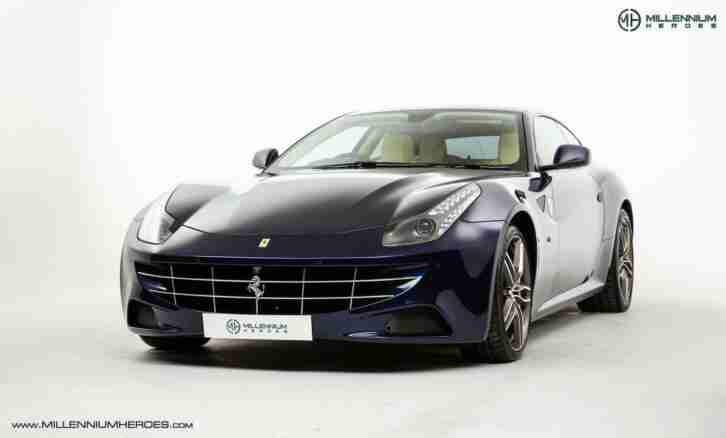 FERRARI FF LE MANS BLUE FULL PPF RHD FULL SUPPLYING DEALER HISTORY