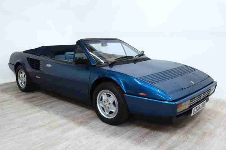 ferrari mondial 3 2 cabriolet car for sale. Black Bedroom Furniture Sets. Home Design Ideas