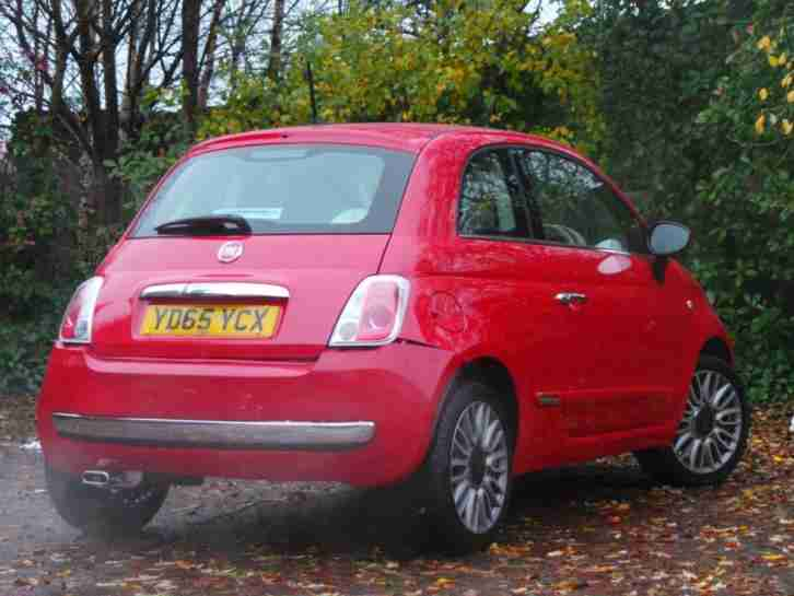 FIAT 500 1.2 LOUNGE 3DR START STOP - DELIVERY MILES - P
