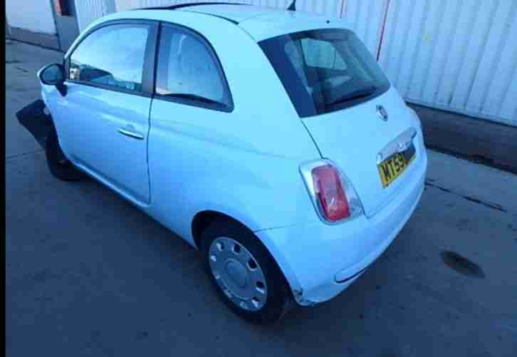 FIAT 500 DAMAGE REPAIRABLE SALVAGE, CATEGORY C
