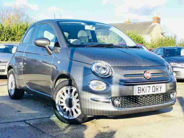 FIAT 500 Start Stop Lounge Grey Manual Petrol, 2017