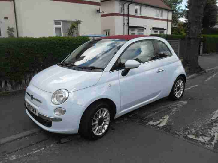 FIAT 500C LOUNGE CONVERTIBLE 2010