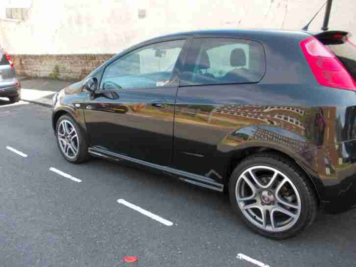 fiat grande punto 1 4 sporting t jet 2009 59 car for sale. Black Bedroom Furniture Sets. Home Design Ideas