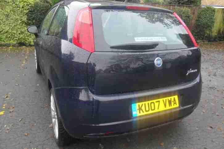 FIAT GRANDE PUNTO ACTIVE 8V 2007 Petrol Manual in Blue