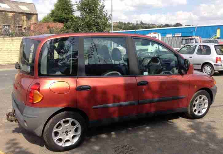 fiat multipla jtd diesel breaking for spares only all parts available. Black Bedroom Furniture Sets. Home Design Ideas