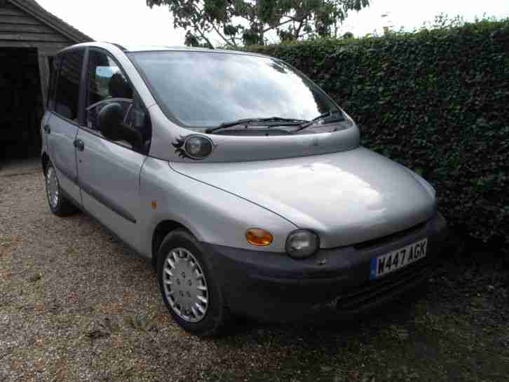 fiat multipla jtd turbo diesel 6 seat aircon climate control car for sale. Black Bedroom Furniture Sets. Home Design Ideas