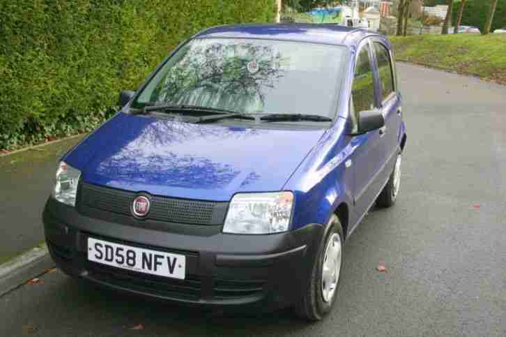 fiat panda 1 1 active 2008 petrol manual in blue car for sale. Black Bedroom Furniture Sets. Home Design Ideas