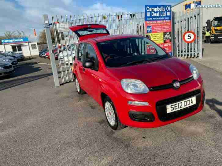 PANDA Pop 2012 Petrol Manual in Red