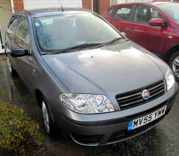 Fiat PUNTO 1.2 ACTIVE 55 PLATE METALLIC GREY ONLY 45000