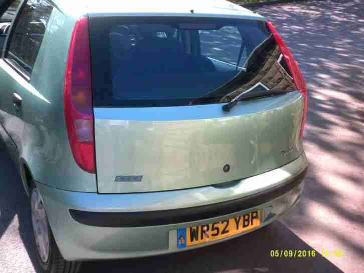 FIAT PUNTO ACTIVE 1.2 full mot *FIVE DOOR* drive away TODAY...