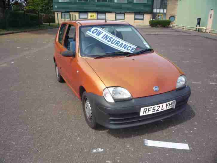 SEICENTO 1.1 S LOW INSURANCE 14 X