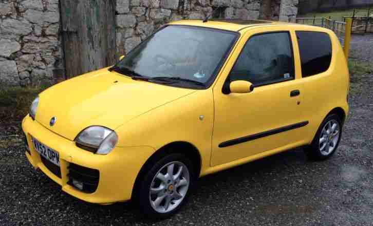 Fiat SEICENTO 1.1 SPORTING YELLOW Must Go. car for sale