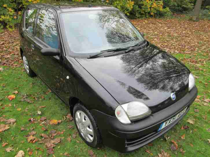 FIAT SEICENTO - FSH - ONLY 29 K MILES from NEW - GENUINE & WARRANTED !