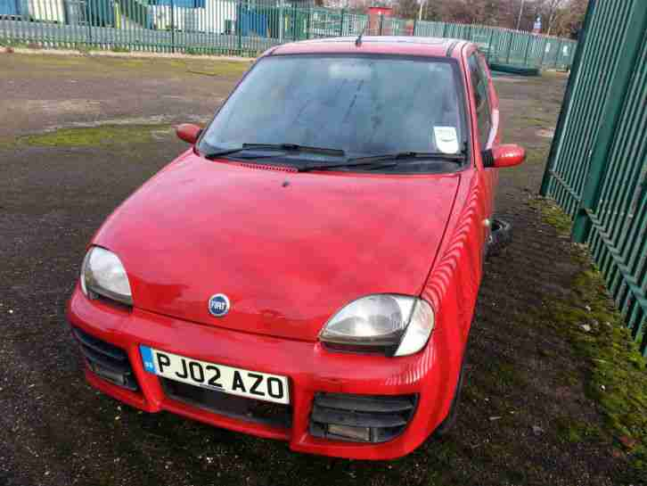 Fiat SEICENTO SPORTING. Fiat car from United Kingdom