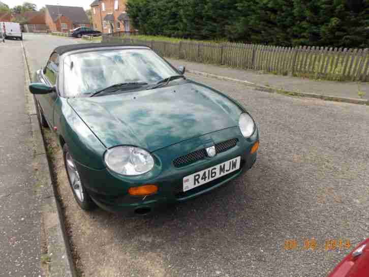 FOR SALE F R REG RACING GREEN ,CREAM