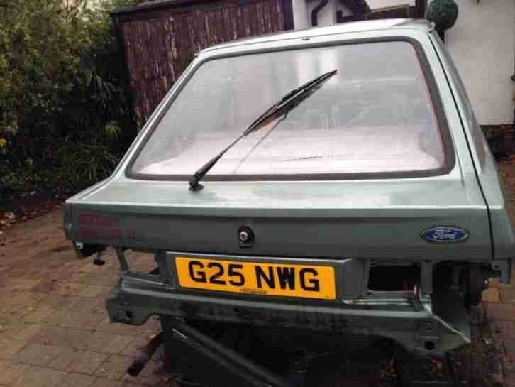 FORD ESCORT 2 DOOR SHELL PROJECT CAR. POSSIBLE RS RALLY RACE COSWORTH REPLICA ET