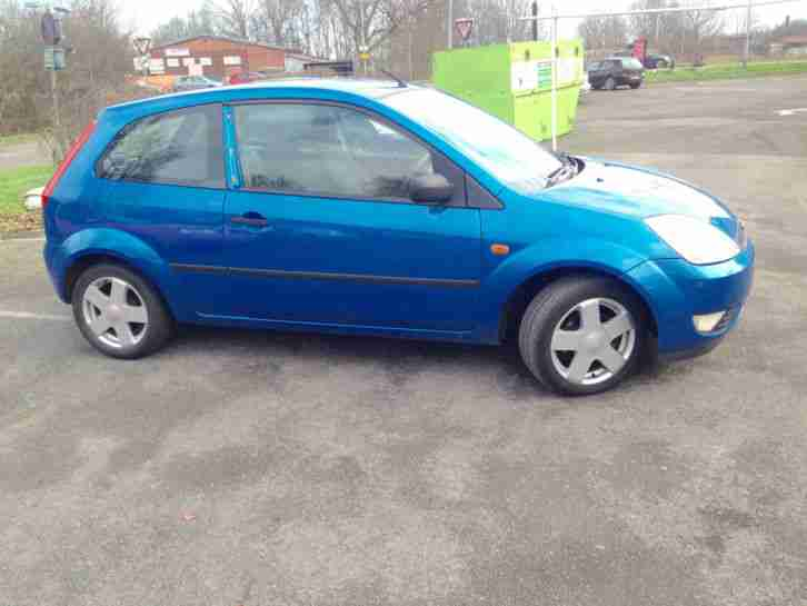 ford fiesta zetec 1 4 3 door 2004 plate noisy engine car for sale. Black Bedroom Furniture Sets. Home Design Ideas