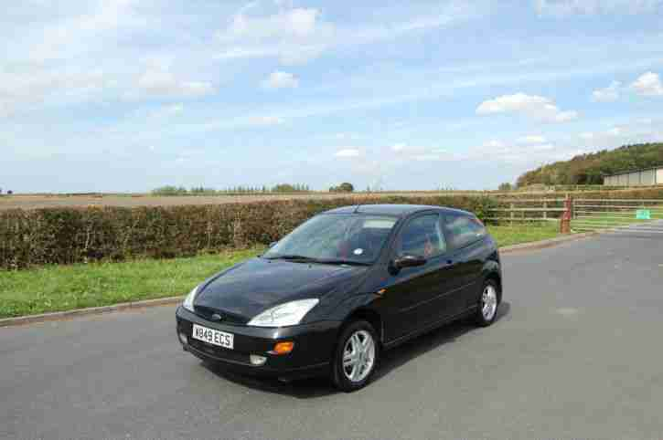 FOCUS 1.4 BLACK WITH 8 MONTHS MOT & 3
