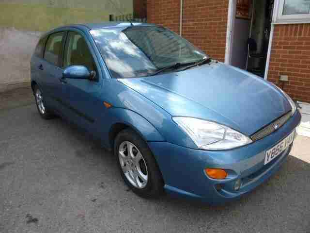 Ford FOCUS 1.8. Ford car from United Kingdom
