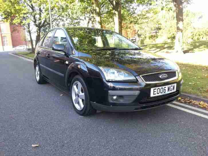 FORD FOCUS 1.8TDCi ZETEC BLACK TAX MOT SERVICE EXCELLENT CONDITION