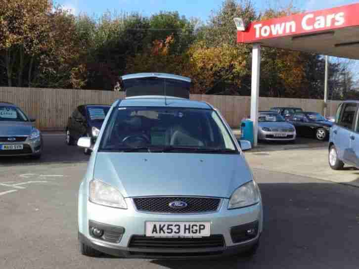 FORD FOCUS C-MAX ZETEC 2003 Petrol Manual in Green