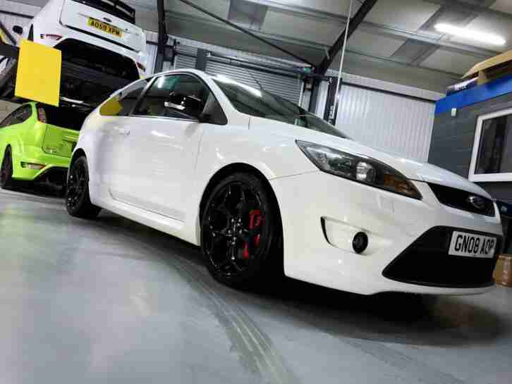 FORD FOCUS ST 225 2.5 TURBO WHITE, 12 MONTHS