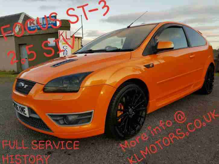 FORD FOCUS ST 3 225 BHP FULL SERVICE