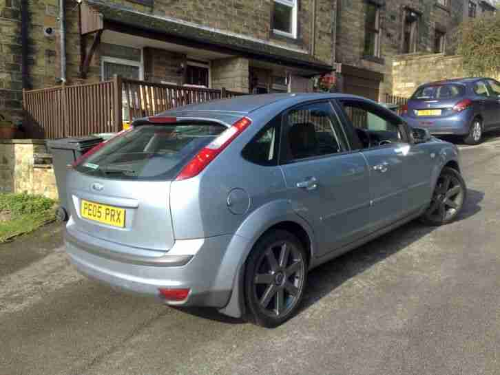 FOCUS TITANIUM, LEATHER SEATS, ALLOYS,