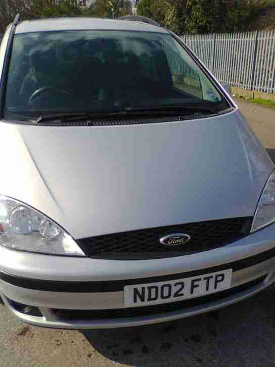 ford galaxy 02 reg automatic spares or repair car for sale. Black Bedroom Furniture Sets. Home Design Ideas