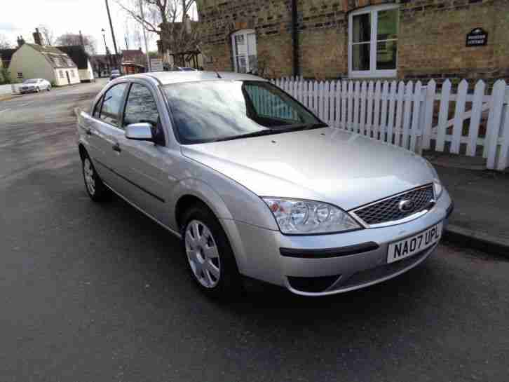 FORD MONDEO 1.8 LX MANUAL 5 DOOR 2007 07 DRIVES LOVELY NEW TYRES LONG MOT