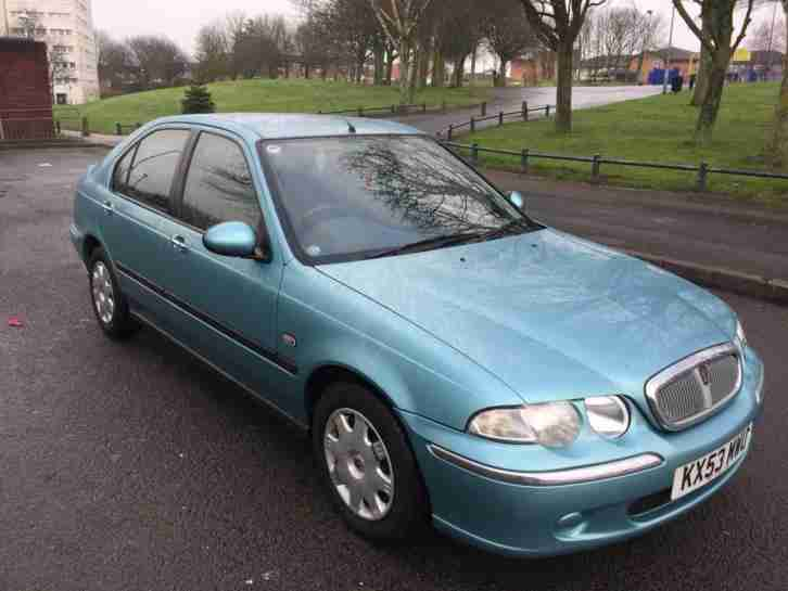FREE DELIVERY Rover 45 iL ONLY 1 FORMER KEEPER SUPER LOW MILEAGE